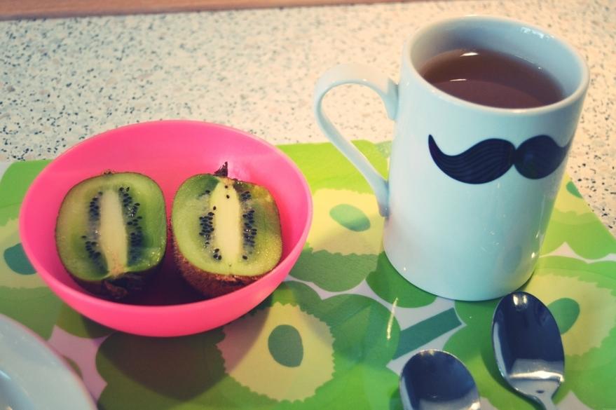 morgenmad-kiwi-grøn-te